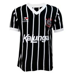 Camisa retrô Corinthians TOPPER 1985-88 listrada kalunga