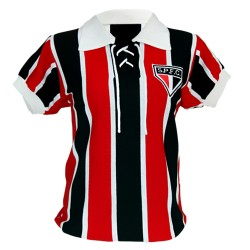 Camisa retrô baby look São Paulo