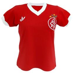 Camisa retrô baby look Internacional