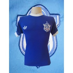 Camisa retrô Marilia azul -1980