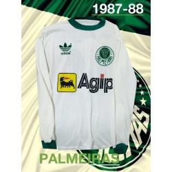 Camisa Palmeiras ML logo gola redonda - 1989 -91