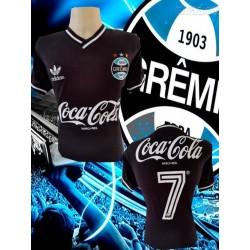 - Camisa retrô Grêmio - 1986 branca