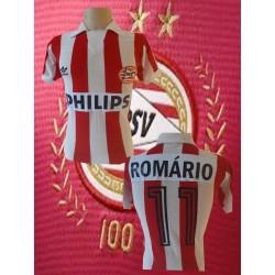 Camisa retrô PSV Eindhoven listrada- HOL