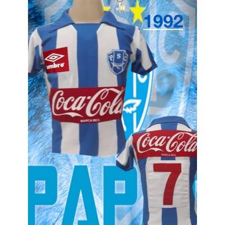 Camisa retrô Paysandu 1991 Unimed