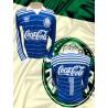 Camisa Retrô Palmeiras 1987 - Agip azul