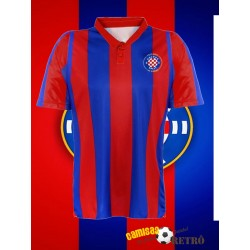 Camisa retrô Hadjuk split branca ML 1970 - CRO