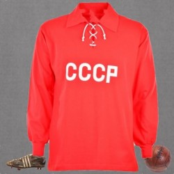 Camisa retrô CCCP vermelha cordinha ML