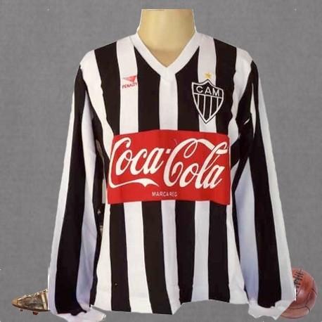 Camisa retrô Atlético- 1989 manga longa