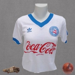 Camisa retrô baby look Esporte clube bahia - 1988