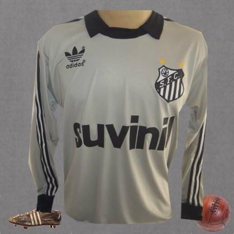 Camisa retrô preta goleiro Santos