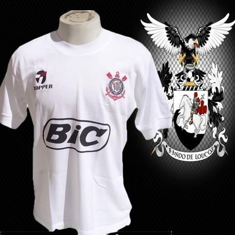 Camisa retrô Corinthians - Bic