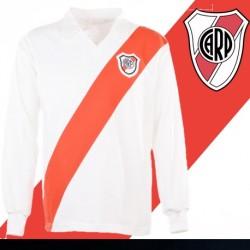 Camisa retrô River Plate manga longa - ARG