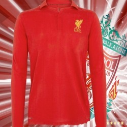 Camisa Retrô Liverpool ML Hitachi- ENG
