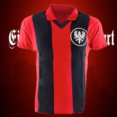 Camisa retrô Eintracht de frankfurt 1960.