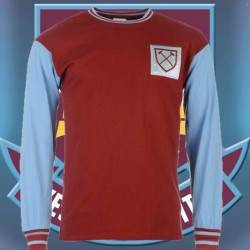 Camisa Retrô Comemorativa West Ham ML- ENG