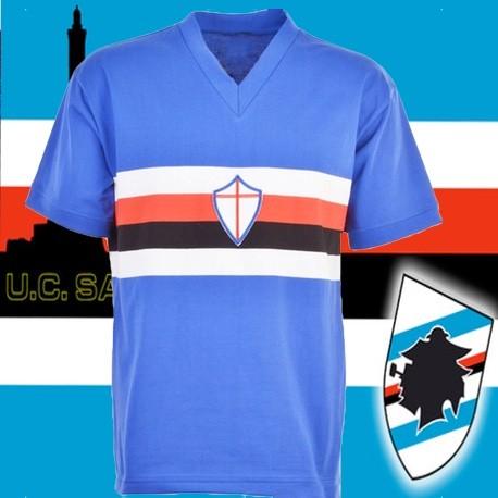 Camisa retrô Sampdoria de Genoa MC 1946-47 - ITA