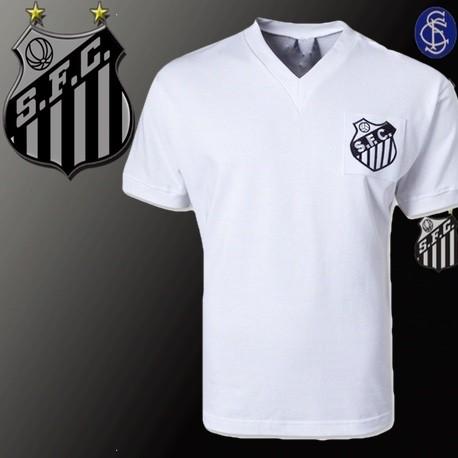 Camisa Santos tradicional Branca