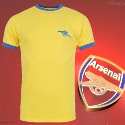 Camisa Retrô Arsenal 1978- 79 amarela - ENG