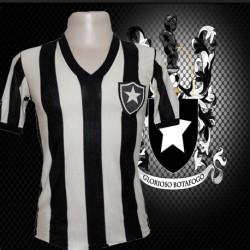 Camisa retrô Botafogo gola V -1970