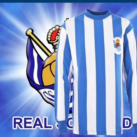 Camisa retrô Real Sociedad -1960 ML