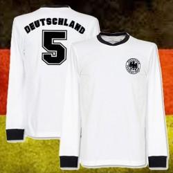 Camisa retrô da Alemanha ML - 1974