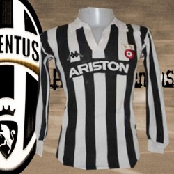 Camisa retrô Juventus Ariston ML- 1982-83