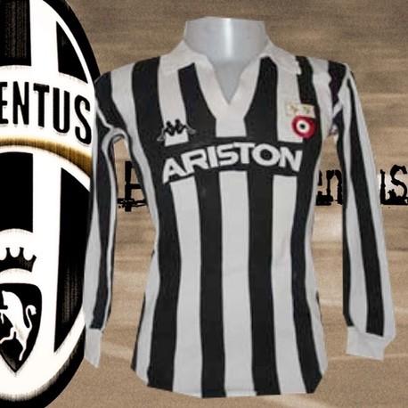 Camisa retrô Juventus Ariston ML- 1982-83
