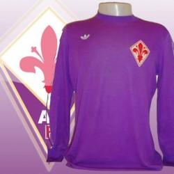 Camisa Retrô Fiorentina logo -1980 - ITA