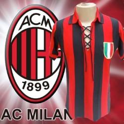 Camisa Retrô Milan 1950 tradicional- ITA