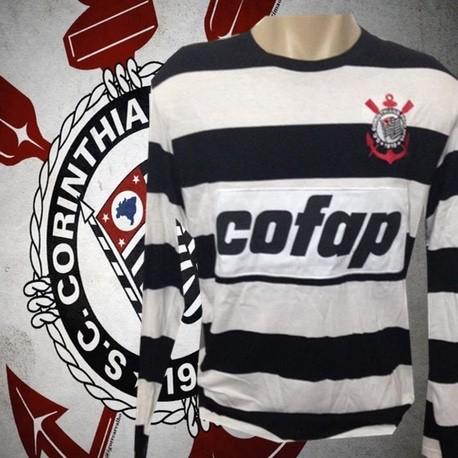 Camisa retrô Corinthians Goleiro ML ( Cofap )