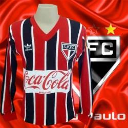 Camisa retrô São Paulo FC tricolor Nugget