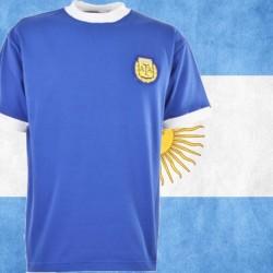 Camisa retrô da Argentina -1982