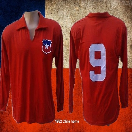 Camisa retrô Chile ML - 1950
