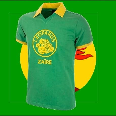 Camisa retrô Zaire verde- 1974