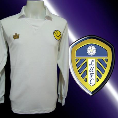 Camisa Retrô Leeds united 1974- ENG