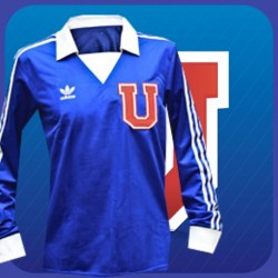 Camisa Retrô Universidad do Chile ML - CHI