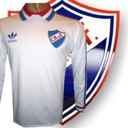 Camisa Retrô Nacional de Montevideo ML branca 1989 - URU