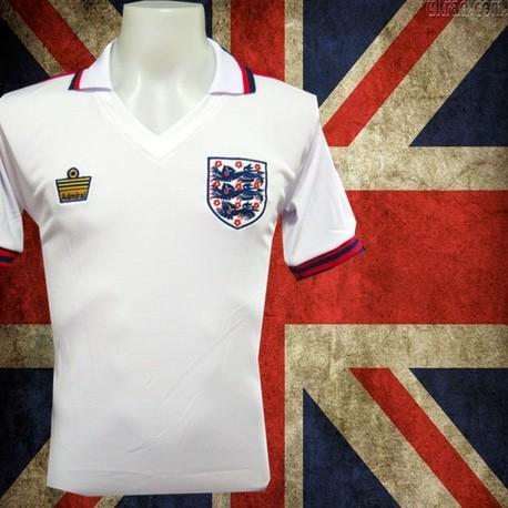 Camisa retrô Inglaterra admiral 1976 - ENG 830c2f1c09099