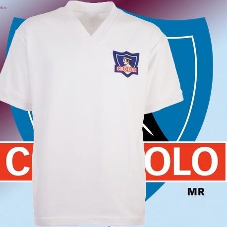 Camisa Retrô Colo Colo tradicional - CHI