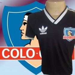 Camisa Retrô Colo Colo logo preta