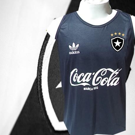 131edad9b5f5c Regata retrô preta botafogo coca cola - Camisas de Clubes Futebol ...