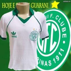 Camisa retrô Guarani branca - 1986