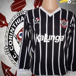 Camisa retrô Corinthians 1988 topper kalunga