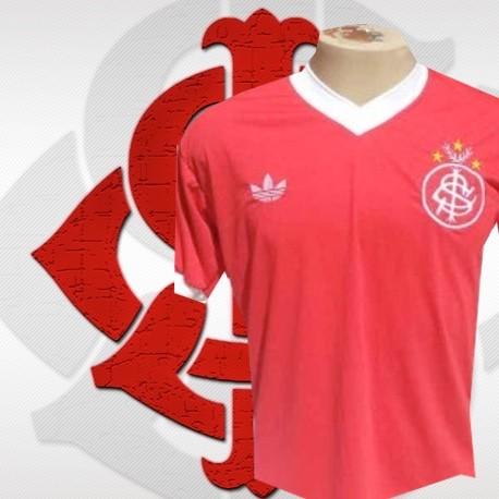 ec3332f1c2 Camisa retrô Internacional 1979-1980 - Logo sem listras