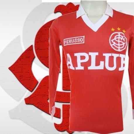 Camisa retrô Internacional ML - Aplub vermelha
