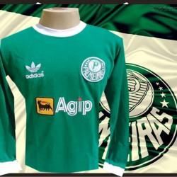 Camisa Palmeiras Agip manga longa 1987-88