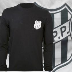 Camisa retrô Ponte Preta goleiro preta - tradicional