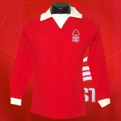 Camisa Retrô nottingham forest vermelha ML- ENG