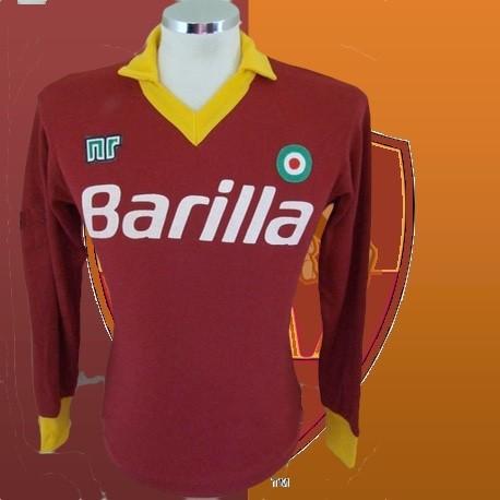 Camisa Retrô Roma ML Roxa tradicional- ITA