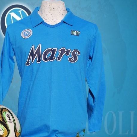 Camisa Retrô Napoli Mars azul 1988 - ITA